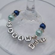 Dance Personalised Wine Glass Charm - Elegance Style